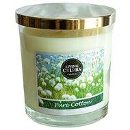 CANDLE LITE Living Colors Pure Cotton 141 g - Svíčka