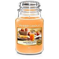 YANKEE CANDLE Farm Fresh Peach  623 g - Svíčka