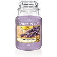 YANKEE CANDLE Classic velký Lemon Lavender 623 g - Svíčka