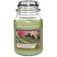 YANKEE CANDLE Classic velký Lemon grass & ginger 623 g - Svíčka