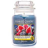 YANKEE CANDLE Classic Large Mulberry & Fig Delight 623g - Candle