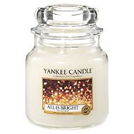 YANKEE CANDLE Classic střední All is Bright 411 g