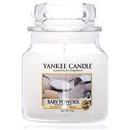 YANKEE CANDLE Classic střední 411 g Baby Powder - Svíčka