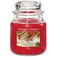 YANKEE CANDLE Classic střední Sparkling Cinnamon 411 g - Svíčka