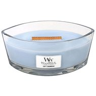 WOODWICK Soft Chambray Hearthwick Candle 453,6 g - Svíčka