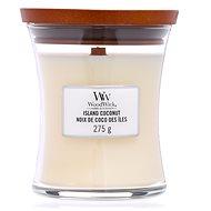WOODWICK Island Coconut Medium Candle 275 g - Svíčka