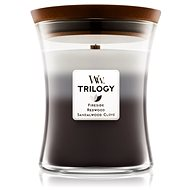 WOODWICK Warm Woods Trilogy Medium Candle 275g - Candle