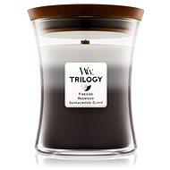 WOODWICK Trilogy Warm Woods Medium Candle 275 g - Svíčka