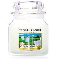 YANKEE CANDLE Classic střední Clean Cotton 411 g - Svíčka