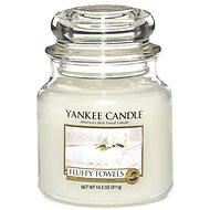 YANKEE CANDLE Classic střední Fluffy Towels 411 g - Svíčka