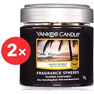 YANKEE CANDLE Black Coconut vonné perly 2× 170 g - Vonné perly