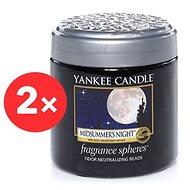 YANKEE CANDLE Midsummer's Night vonné perly 2× 170 g - Vonné perly