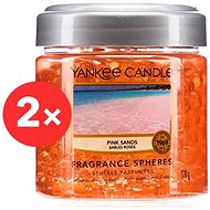 YANKEE CANDLE Pink Sands vonné perly 2× 170 g - Vonné perly