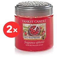 YANKEE CANDLE Red Raspberry 2× 170 g - Vonné perly