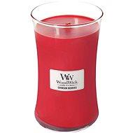 WOODWICK Crimson Berries 609 g - Svíčka