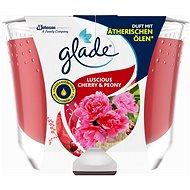 GLADE Maxi Luscious Cherry & Peony 224 g - Svíčka