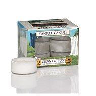 YANKEE CANDLE Clean Cotton 12 × 9,8 g - Svíčka