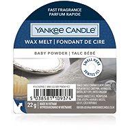 YANKEE CANDLE Baby Powder 22 g - Vonný vosk