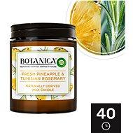 Botanica by Air Wick Svěží ananas a tuniský rozmarýn 205 g - Svíčka