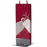 FLATYZ Winter Birds On Red 80g - Candle