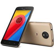 Motorola Moto C Plus Gold - Mobilní telefon