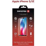 Swissten Case Friendly pro iPhone 5/5S/SE černé - Ochranné sklo