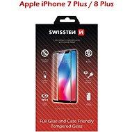 Swissten Case Friendly pro iPhone 7 Plus/8 Plus černé - Ochranné sklo