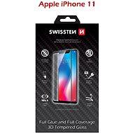 Swissten 3D Full Glue pro iPhone 11 černé