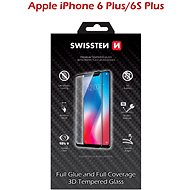 Swissten 3D Full Glue pro iPhone 6 Plus/ 6S Plus černé - Ochranné sklo