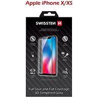 Ochranné sklo Swissten 3D Full Glue pro iPhone X/ XS černé