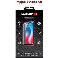 Swissten 3D Full Glue pro iPhone XR černé