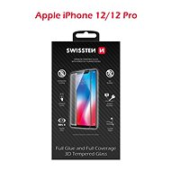 Swissten 3D Full Glue pro iPhone 12/12 Pro - Ochranné sklo