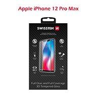 Ochranné sklo Swissten 3D Full Glue pro iPhone 12 Pro Max - Ochranné sklo