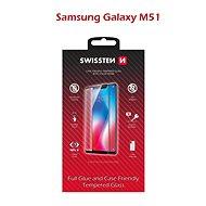 Ochranné sklo Swissten Case Friendly pro Samsung Galaxy M51 černé