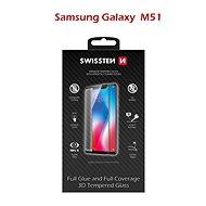 Ochranné sklo Swissten 3D Full Glue pro Samsung Galaxy M51 černé