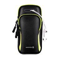 Swissten Armbag Case pouzdro černé - Pouzdro na mobil