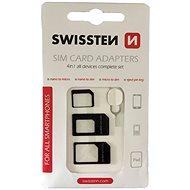Swissten adaptér na sim 4v1 - Adaptér