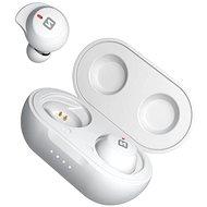 Swissten Stonebuds bílá - Bezdrátová sluchátka