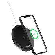 Swissten Wireless 15W černá - Bezdrátová nabíječka