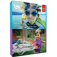 Adobe Photoshop Elements + Premiere Elements 2019 MP ENG BOX - Grafický software