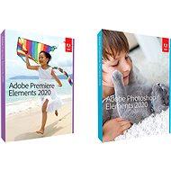 Adobe Photoshop Elements + Premiere Elements 2020 ENG Student & Teacher WIN/MAC (BOX) - Grafický software