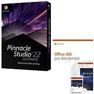 Pinnacle Studio 22 Ultimate + Microsoft Office 365 pro domácnosti - Střihový software