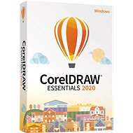 CorelDRAW Essentials 2020 CZ/PL (BOX) - Graphics Software