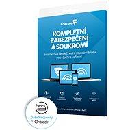 F-Secure TOTAL FAMILY DR pro 5 zařízení na 1 rok + Data Recovery pro 1 zařízení na 1 rok BOX - Antivirus