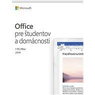 Microsoft Office 2019 Home and Student SK (BOX) - Kancelářská aplikace