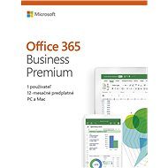 Microsoft Office 365 Business Premium Retail (BOX) - Office
