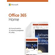 Microsoft Office 365 Home Premium EN (BOX) - Office