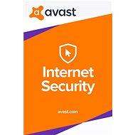 Avast Internet Security pro 1 počítač na 12 měsíců (elektronická licence)