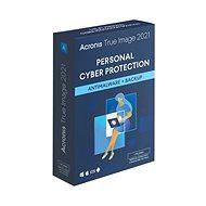 Acronis True Image 2021 Advanced Protection pro 3 PC na 1 rok + 250GB Acronis Cloud úložiště (elektr - Zálohovací software