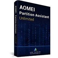 AOMEI Partition Assistant Unlimited (elektronická licence) - Zálohovací software